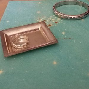 RETIRED TIFFANY & CO. STERLING ASH TRAY VERY RARE!